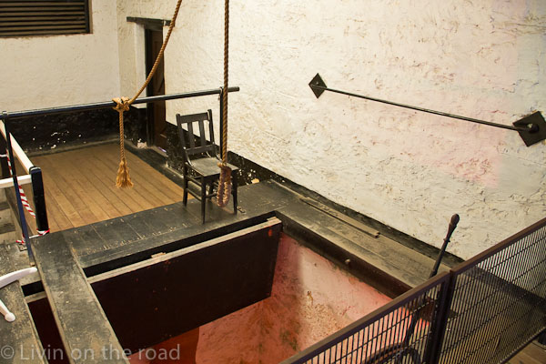 Travel blog Fremantle Gaol