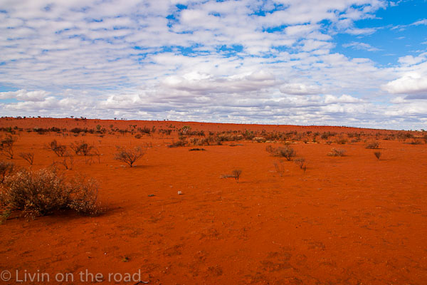 Travel blog Outback drive
